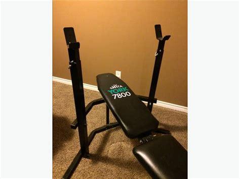 weight bench leg attachment york 7800 weight bench w leg attachment north regina regina