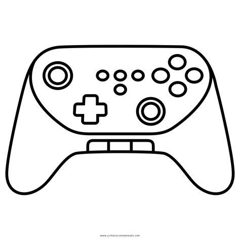 imagenes para colorear videojuegos dibujo de consola de juego para colorear ultra coloring