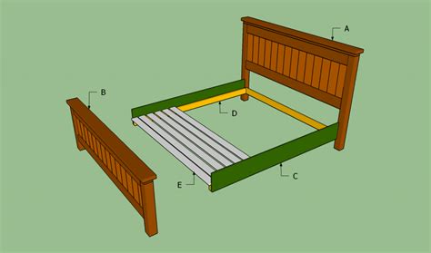 How To Build A Bed Frame Out Of Pallets How To Build A King Size Bed Frame Howtospecialist How To Build Step By Step Diy Plans