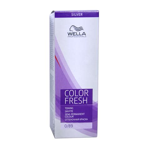 how to colour hair semi quasi permanent color easy wella color fresh toning semi permanent colour 0 89 75ml
