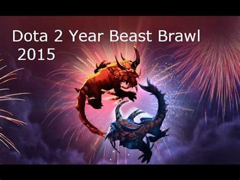 dota 2 year beast brawl wallpaper dota 2 year beast brawl 2015 gameplay commentary new