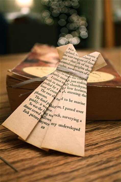 Book Page Origami - artesanato papel fa 199 a um lindo vestido origami