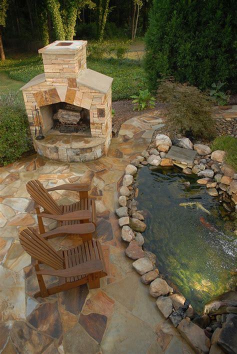 Backyard Fish Pond Designs by 20 Beautiful Backyard Pond Ideas Home Design And Interior