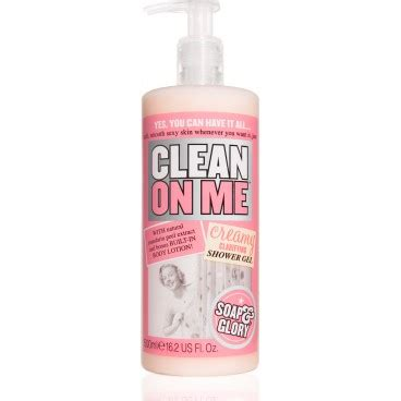 Soaps Shower Gels Clean clean on me shower gel cozy favorites
