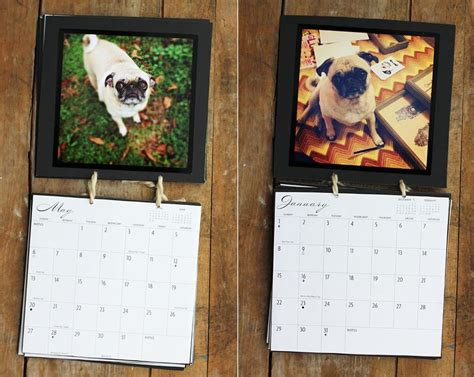 your own calendar with pictures 5 easy diy calendars for home and office