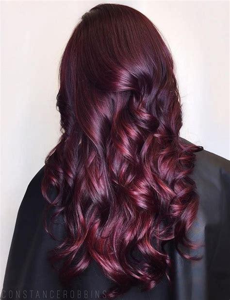 flirty burgundy hair ideas fashion daily