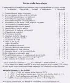 printable couples questionnaire test de satisfaction conjugale th 233 rapie de couple et