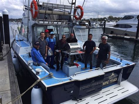 charter boat fishing hshire sydney premium charters fishing charters cronulla sydney