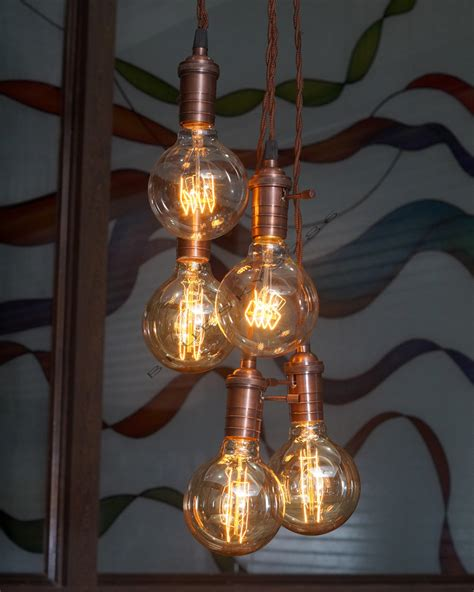 ladari retro vintage edison light fixtures filament light bulbs