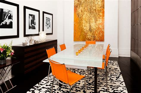 Orange And Black Living Room by Orange And Black Interiors Living Rooms Bedrooms And