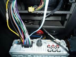 branchement autoradio clio 1