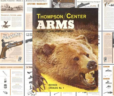 thompson and catalog cornell publications thompson center arms 1974 no 1 gun