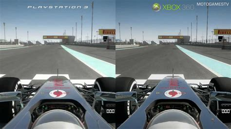 top ps3 graphics vs xbox360 f1 2012 demo ps3 vs xbox 360 graphics comparison