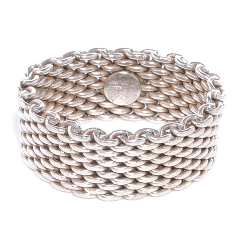 co sterling silver mesh somerset ring 11 41340