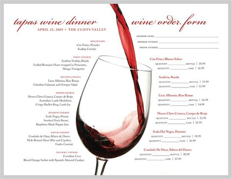 18 wine menu design inspiration sles uprinting