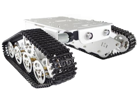 Robot Track Kit Tank Wheel t300 metal wall e caterpillar tank chassis from doit am on