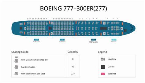 plan si鑒es boeing 777 300er air reward flying