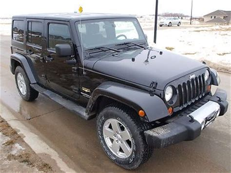 2011 Jeep Wrangler Unlimited Owners Manual Buy Used 2011 Jeep Wrangler Unlimited Black Hardtop