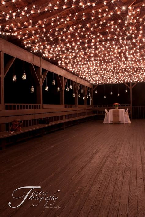 Hide Ugly Lattice On Ceiling With Pave Cafe Lights Green Outdoor Roof Lights