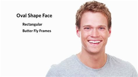 frames for an oval face shape male youtube