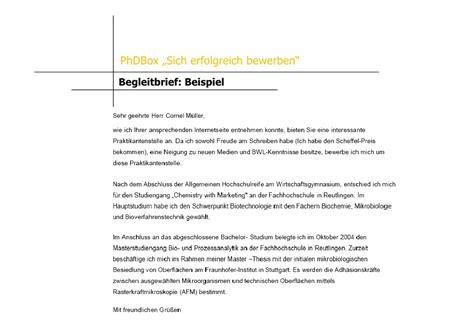 Muster Spontanbewerbung Schweiz Sich Erfolgreich Bewerben