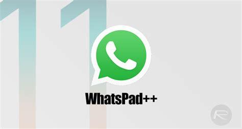 whatsapp themes jailbreak how to install whatsapp ipad whatspad on ios 11 no