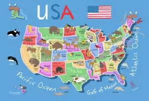 united states map kindergarten printable map of usa for its s a jungle in here