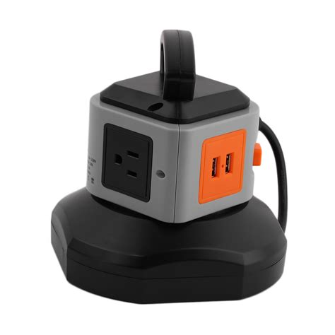 surge protector with usb charging ports power strip with usb surge protector 3 outlet 2 usb port
