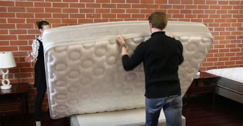 How To Flip A Mattress By Yourself help your mattress wear evenly with this simple technique