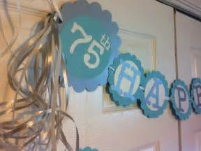 75th Birthday Favors by 75th Birthday Decorations Personalization Available