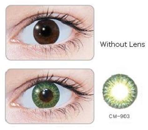 geo magic color series – 3tone green lens cm 903