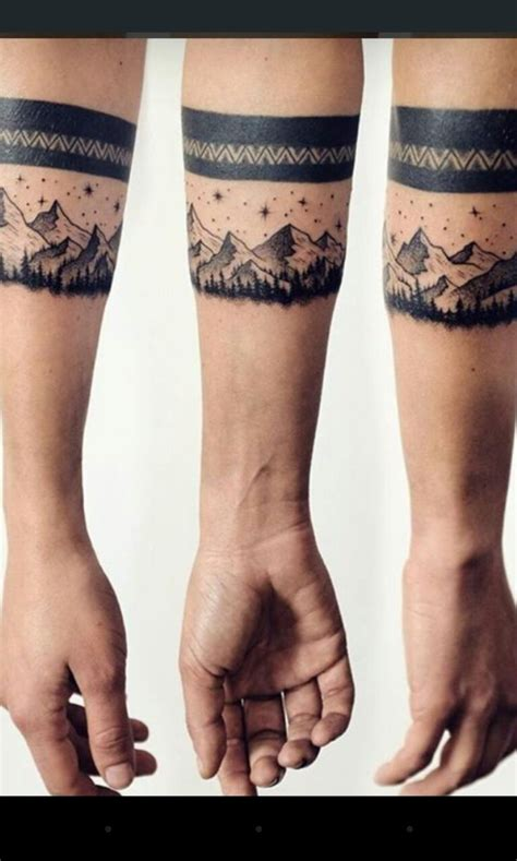 mountain line tattoo art tattoo amp body pinterest