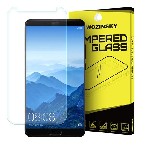 4d Tempered Glass Huawei Mate 10 Cover 9h Anti Gores Kaca wozinsky tempered glass 9h screen protector for huawei