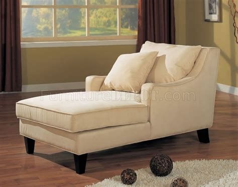 chaise lounge bedroom furniture microfiber classic chaise lounge w cappuccino finish