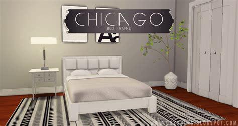sims  blog chicago bed frame  kiararawks