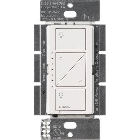 lutron caseta ceiling fan lutron caseta wireless smart lighting dimmer switch for