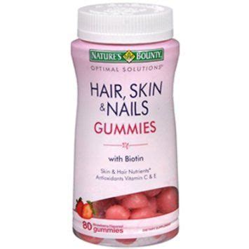 Frutels Gummy Vitamins For Acne by Nature S Bounty Hair Skin Nails Gummies Reviews