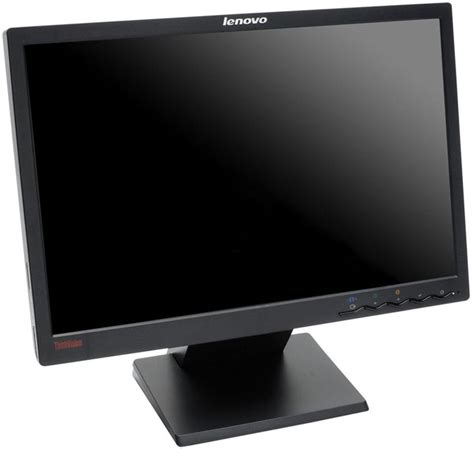 Lcd Lenovo 19 Inch peripherals displays computer monitors lenovo thinkvision l197 19 inch 1440x900 lcd
