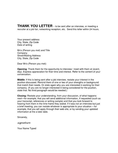 Thank You Letter Shadowing Sle Thank You Note After Shadowing Cover Letter Templates