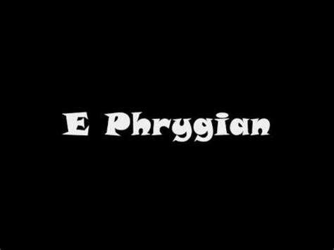 arabic guitar scale backing track backingtrackhq phrygian backing track minor and dominant phrygian sc