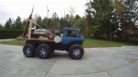 how does a truck last fpv rc truck car towing summit 6x6 slash