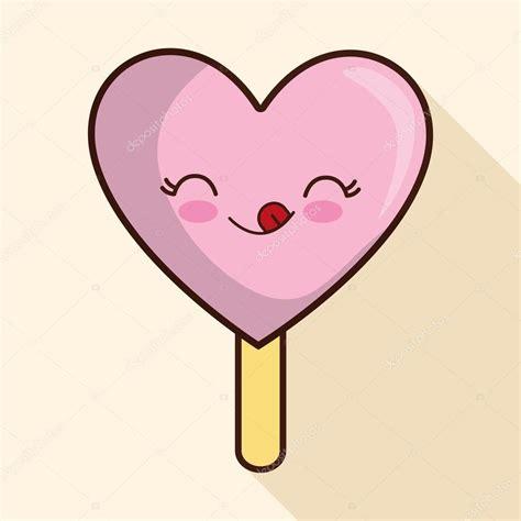 imagenes de helados kawaii helados de dise 241 o icono de dibujos animados ilustraci 243 n