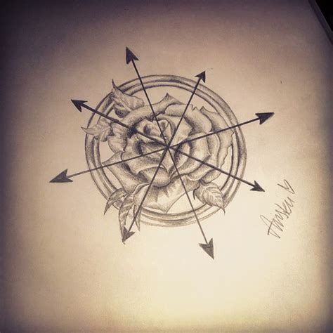 compass tattoo sketch compass tattoo drawing pencil on instagram
