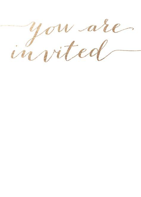 foil wedding invitations louise  foil invite company