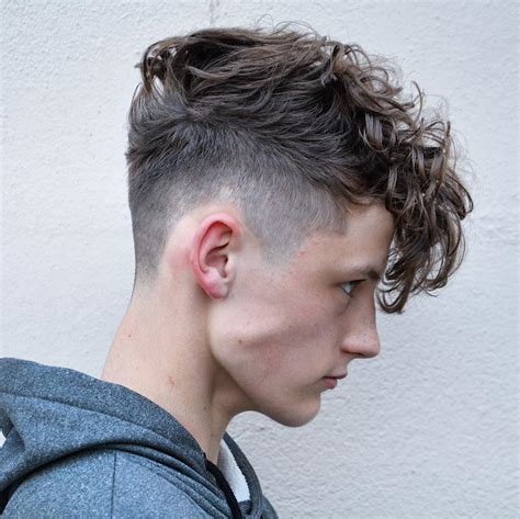 mens wavy hairstyles how to plus barberdeano and short 25 high fade haircuts