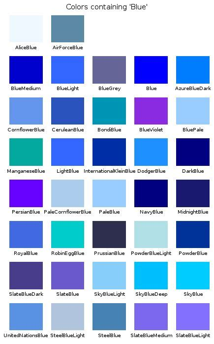 blue color shades shades of blue search 4 a husband for
