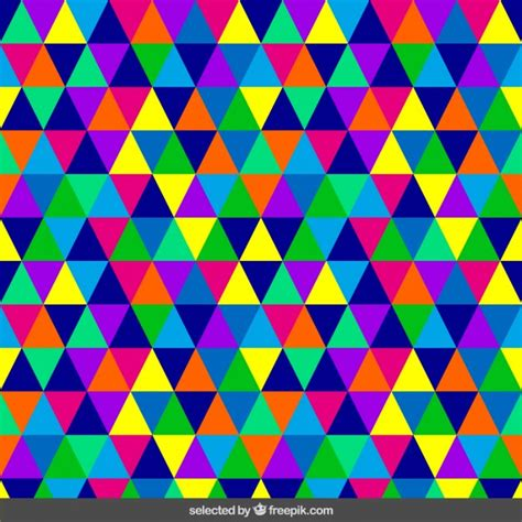 triangle pattern ai download homogeneous triangular pattern vector free download