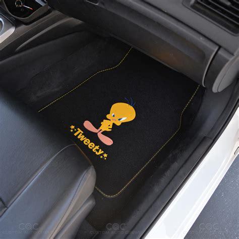 Car Mat Suv by Tweety Bird Floor Mat For Car Suv 4 Pc Warner Bros Auto