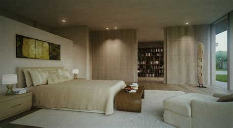 contemporary master bedroom single story modern cottage in israel