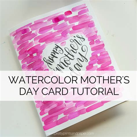 mothers day card to make family mothers day card make and do together with